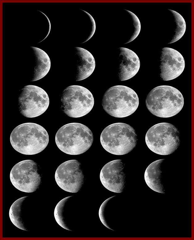 أطوار القمر: هل القمر يصدر نوره الخاص أم يعكس أشعة الشمس؟ بحث قيم للمهندس جمال السعدون