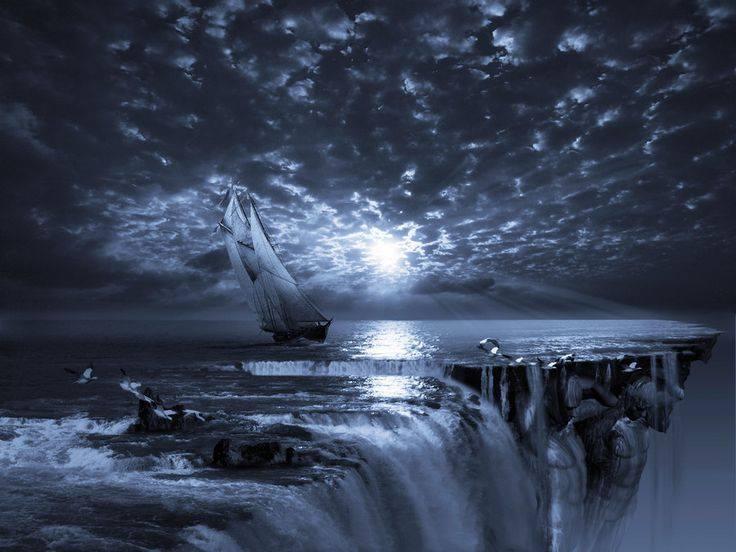 أين هي حافة الأرض المسطحة؟ ماذا يحدث لو وصلنا للحافة؟