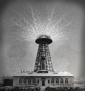 برج نقل الكهرباء لاسلكيا