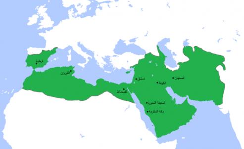 Umayyad750ADloc-ar.png (116 KB) الحدود الجغرافية للخلافة الاسلامية في عهد الدولة الأموية