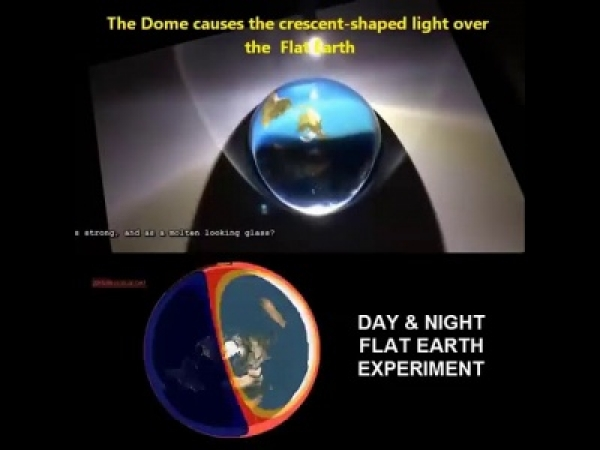 neight_and_day_in_flat_earth.jpg (84 KB) تجربة علمية لمحاكاة كيفية تعاقب الليل والنهار في الأرض المسطحة